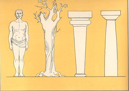 Il tempio greco for Colonne esterne di stile dell artigiano