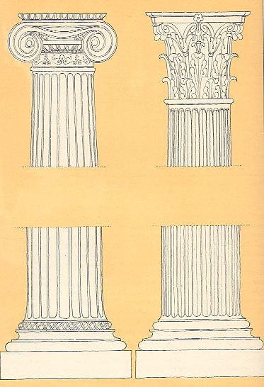 Il tempio greco for Come costruire colonne in stile artigiano