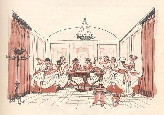 I Romani A Tavola