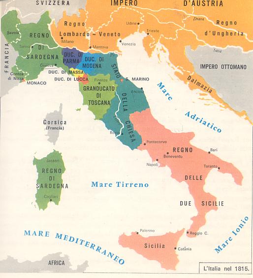 L Europa E L Italia Dopo Il Congresso Di Vienna 28