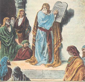 Gli ebrei - Le tavole della legge ...